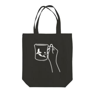 SAME Cap|おサメさんとコーヒー Tote bags
