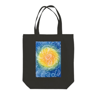 The sound of snow. Tote bags