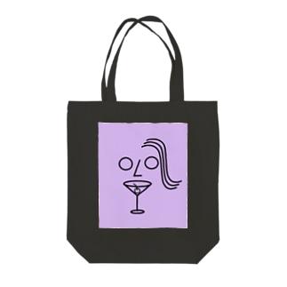 カクテルを一杯 Tote bags