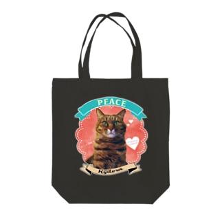 オーダー品★キジトラのピースA Tote bags