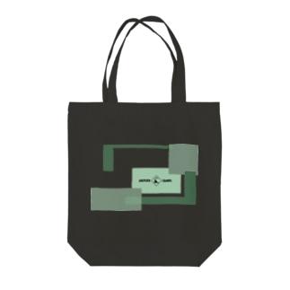CYBER WINDOW GRN Tote Bag