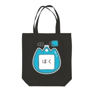CT129 幼稚園バッチ・名札D*ぼく Tote bags