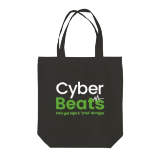 Cyber Beats Tote bags