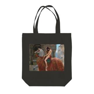 ジョン・コリア 《ゴダイヴァ夫人》 Tote Bag