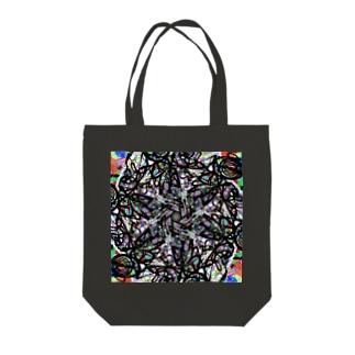 ゼンタングル(Zentangle)part1 Tote bags