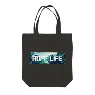 Ruff Life オリジナルフォト Tote bags