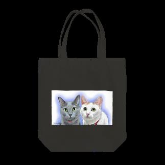 kinako-japanのラムちゃんノアちゃん Tote bags