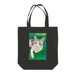 チャビー君 Tote bags