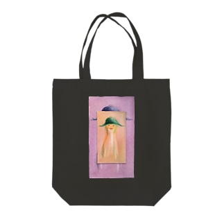 ぼうしピーナツ Tote bags