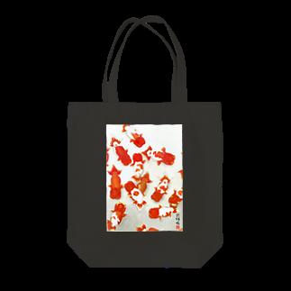 花錦園 ~Kakin-en~の【金魚】宇野系ランチュウ~秋の群泳~ Tote bags