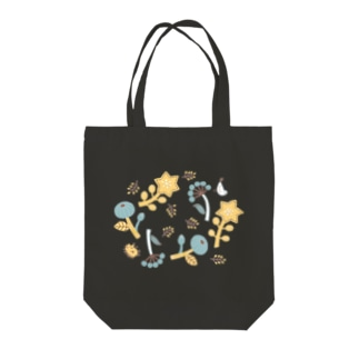 +kohのハリネズミくん花ちらし Tote Bag