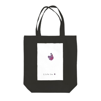 C is for Crow カラス Tote bags