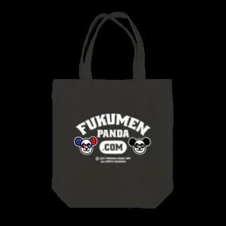 fukumenpandaの覆面パンダ夫婦トートバッグ(Bver)トートバッグ