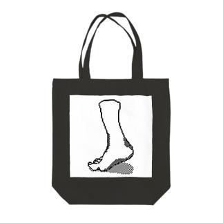 右足 Tote bags