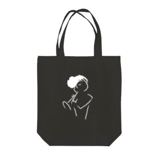 Regent PLAYING style -white- Tote bags