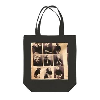 マリリン柄 Tote bags