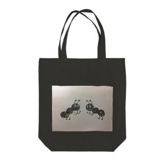 ありさん Tote bags