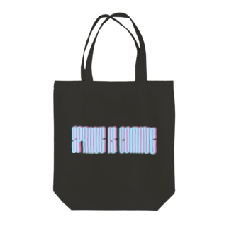 spring is coming Tote bags