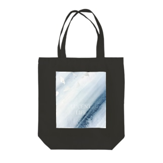 Sumi - Silver leaf Tote bags