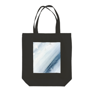 LUCENT LIFEのSumi - Silver leaf Tote bags