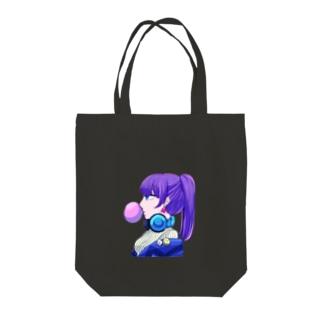 bad girl... Tote bags