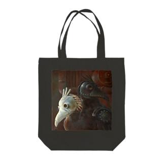 YOGENNOTORI Tote bags