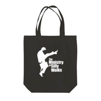 The Ministry of Silly Walks(バカ歩き省)2/2 Tote bags