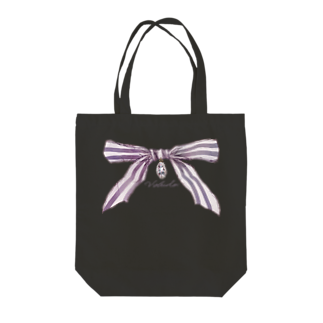 veludoの宝石と蝶結び Tote bags