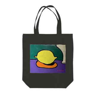 空っぽのレモン Tote bags