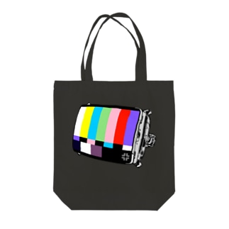 CRT MONITOR Tote bags