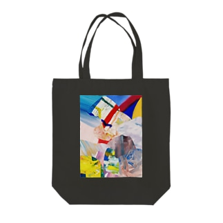 ATELIER SUIのHIDEコラージュ Tote bags