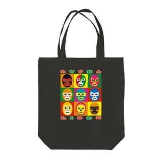 LUCHA LIBRE Tote bags