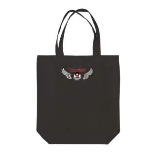 荒ぶる桜文鳥さん Tote bags