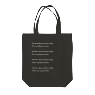HDD死の宣告 Tote bags