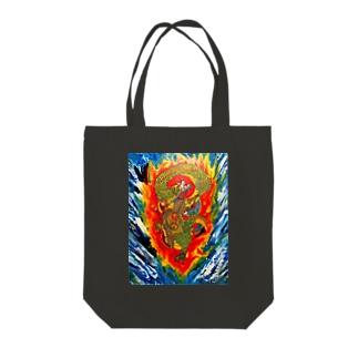 蒼龍 Tote bags