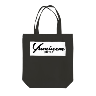 Yuminem supply ロゴ Tote bags