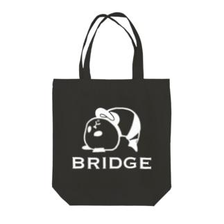 パンダプロレス ブリッジ Tote Bag