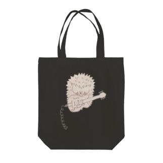 ハリネズミ( ギター) Tote bags