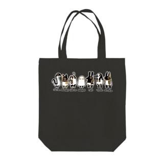 とーとつにエジプト神 名前つき 7柱 Tote bags