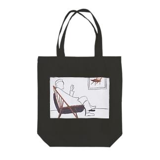 ウィンザーチェア Tote bags