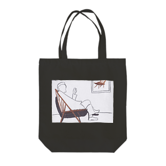 CHAIR LABOのウィンザーチェア Tote bags