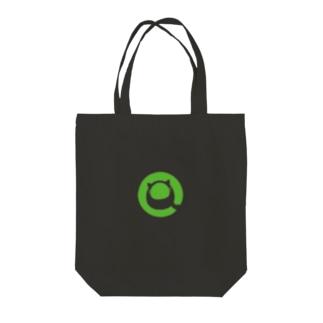 Qiitan トートバッグ(白・黒) Tote Bag