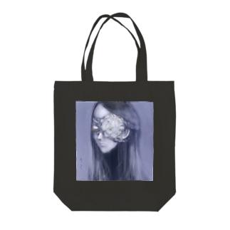 死んだ魚の目の乙女(牡丹) Tote bags