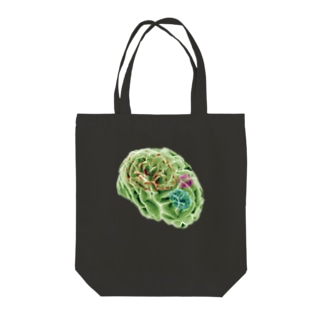 amnesia (BRAINS UP) Tote bags