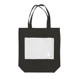 たましい(ロゴ小) Tote bags