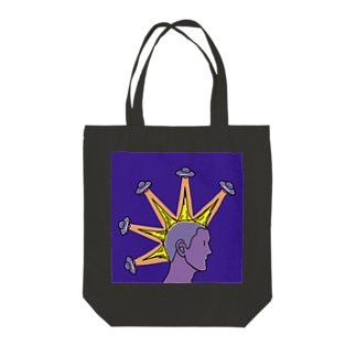 Mohawk Tote bags