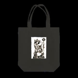 D.アラキの異世界部屋【SUZURI店】の占星術師タマ Tote bags