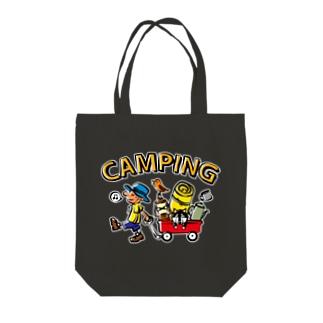 キャンピング_カラフル Tote Bag