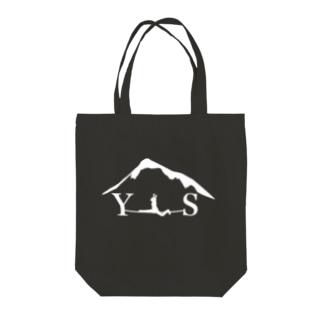 YSスプレッド-ホワイト Tote bags