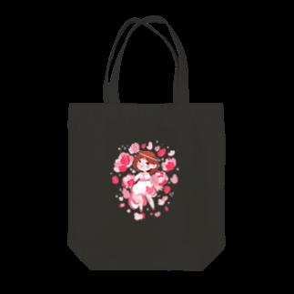 JellyrinのPINK花 Tote bags